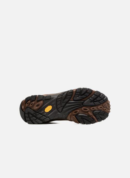 Zapatillas de deporte Merrell Moab Venture Lace Marrón vista de arriba