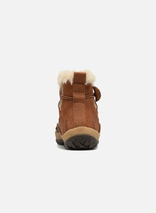 Chaussures de sport Merrell Tremblant Pull On Thrmo Wp Marron vue droite
