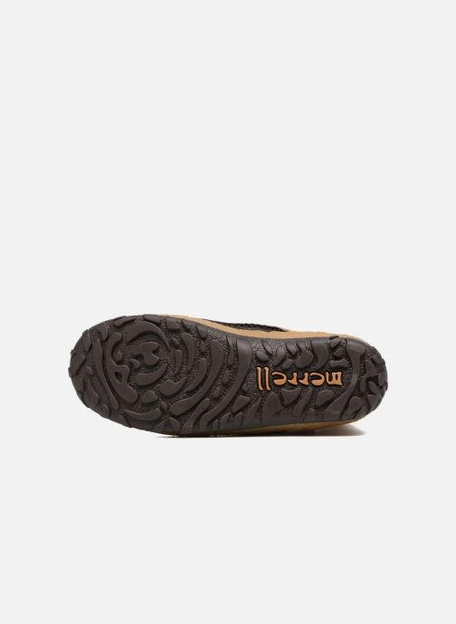 Chaussures de sport Merrell Tremblant Pull On Thrmo Wp Marron vue haut