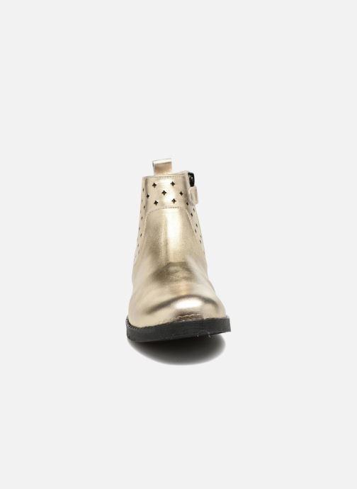 Bottines et boots Mellow Yellow Mncharlyn Or et bronze vue portées chaussures