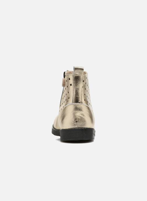 Bottines et boots Mellow Yellow Mncharlyn Or et bronze vue droite