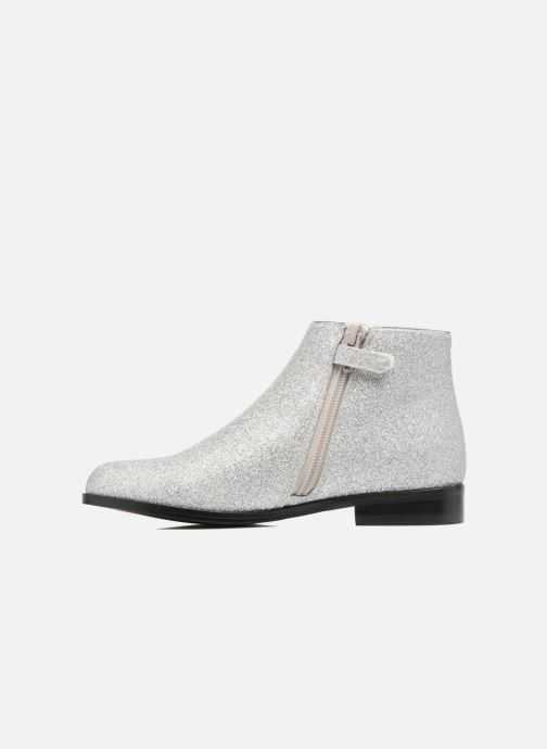Ankle boots Mellow Yellow Mncaglitter Silver front view