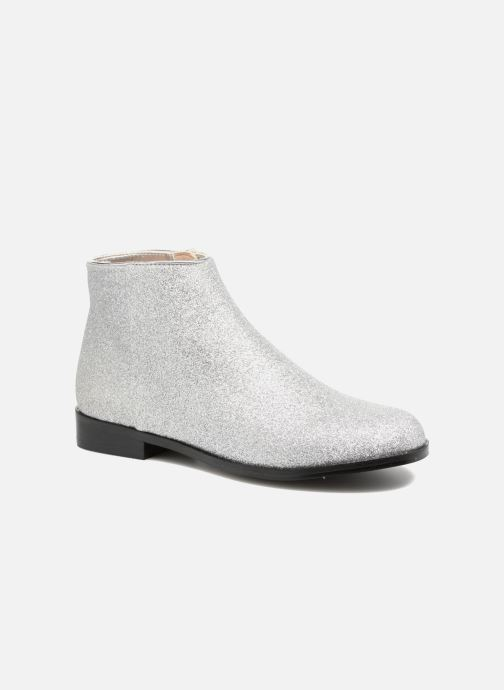 Ankle boots Mellow Yellow Mncaglitter Silver detailed view/ Pair view