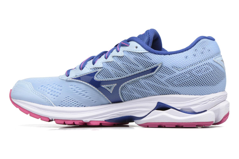Chaussures de sport Mizuno WAVE RIDER 20 (W) Bleu vue face