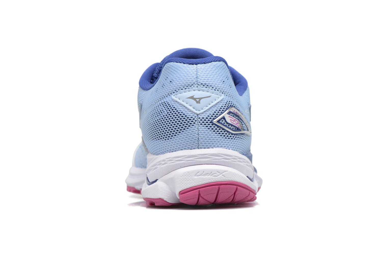 Chaussures de sport Mizuno WAVE RIDER 20 (W) Bleu vue droite