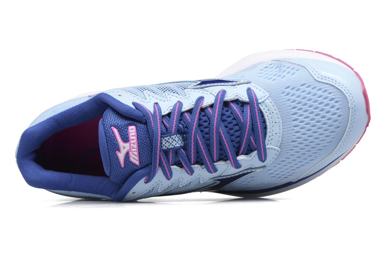 Chaussures de sport Mizuno WAVE RIDER 20 (W) Bleu vue gauche