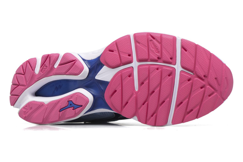 Chaussures de sport Mizuno WAVE RIDER 20 (W) Bleu vue haut