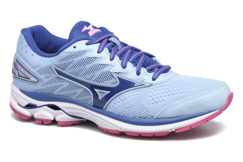 Chaussures de sport Mizuno WAVE RIDER 20 (W) Bleu vue détail/paire