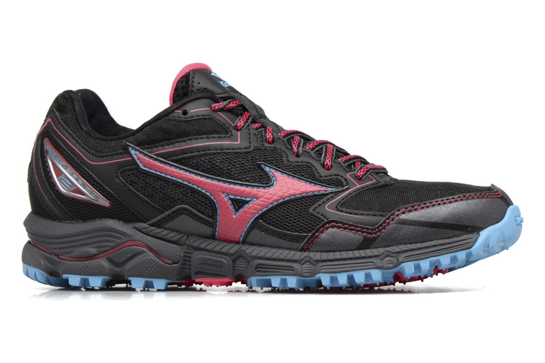 Chaussures de sport Mizuno WAVE DAICHI 2 (W) Noir vue derrière