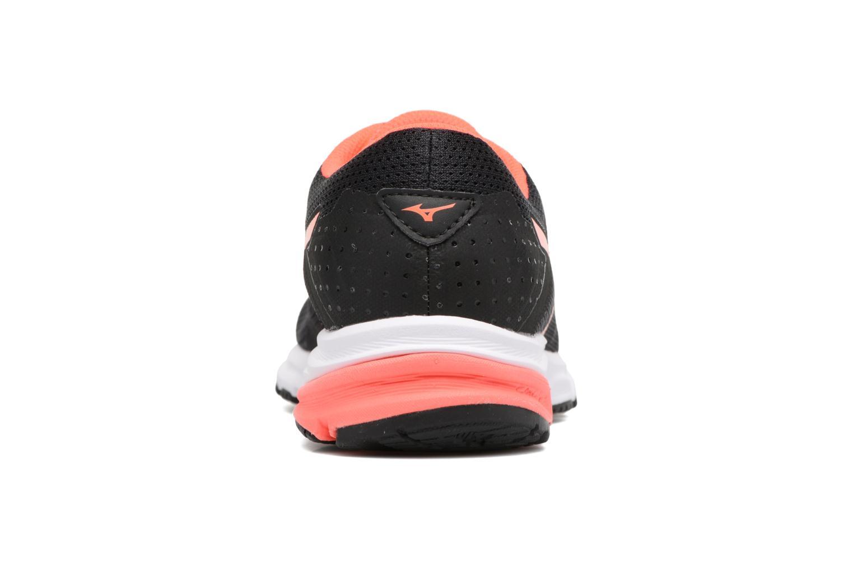 Chaussures de sport Mizuno MIZUNO SYNCHRO MD 2 (W) Noir vue droite