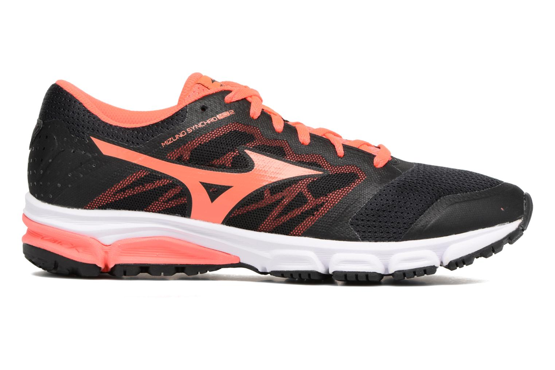 Chaussures de sport Mizuno MIZUNO SYNCHRO MD 2 (W) Noir vue derrière