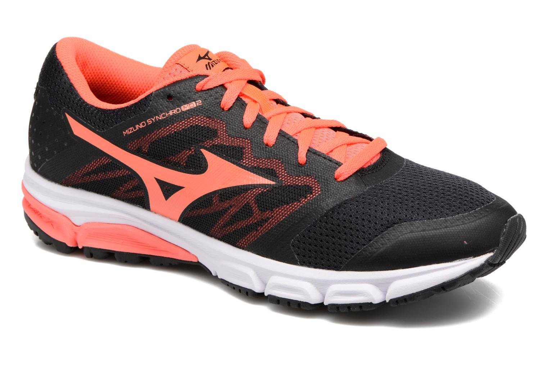 Chaussures de sport Mizuno MIZUNO SYNCHRO MD 2 (W) Noir vue détail/paire