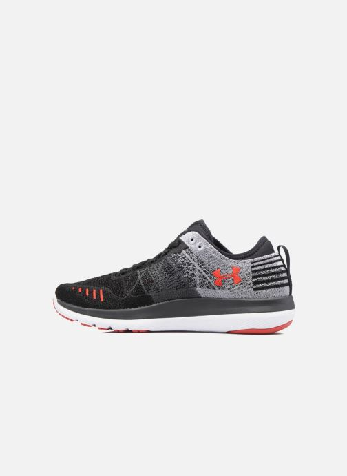 Chaussures de sport Under Armour Threadborne Fortis Gris vue face
