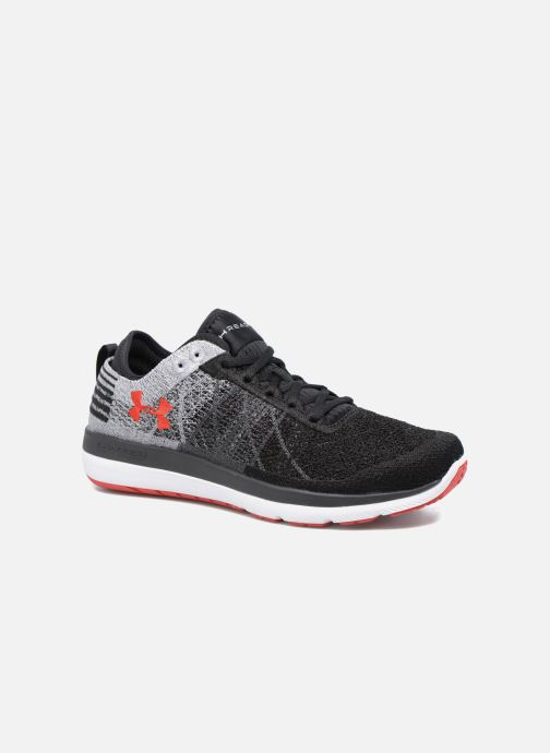 Chaussures de sport Under Armour Threadborne Fortis Gris vue détail/paire