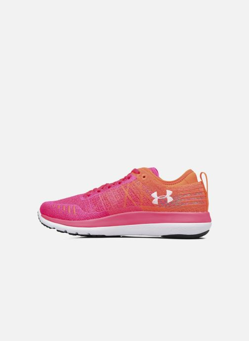 Zapatillas de deporte Under Armour W Threadborne Fortis Rosa vista de frente