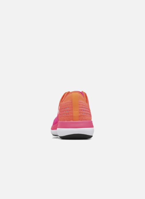 Sport shoes Under Armour W Threadborne Fortis Pink back view