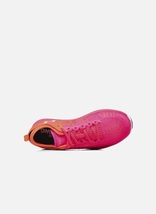 Sport shoes Under Armour W Threadborne Fortis Pink view from the left