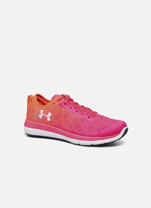 Sport shoes Under Armour W Threadborne Fortis Pink detailed view/ Pair view