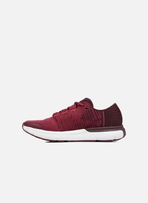 Chaussures de sport Under Armour W Speedform Gemini 3 Gr Bordeaux vue face