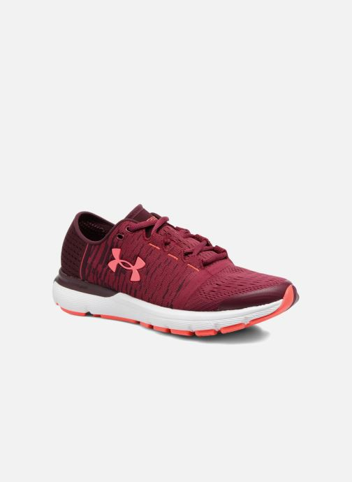 Zapatillas de deporte Under Armour W Speedform Gemini 3 Gr Vino vista de detalle / par