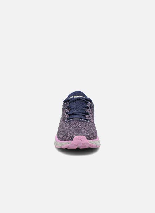 Chaussures de sport Under Armour W Charged Bandit 3 Violet vue portées chaussures