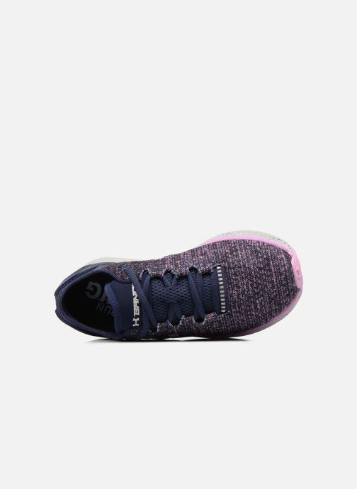 Chaussures de sport Under Armour W Charged Bandit 3 Violet vue gauche
