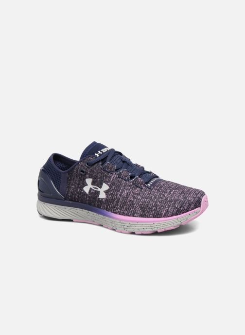 Sport shoes Under Armour W Charged Bandit 3 Purple detailed view/ Pair view