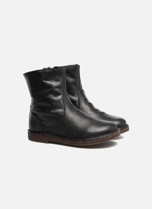 Bottines et boots PèPè Fabio Noir vue 3/4