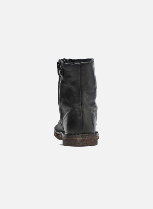 Bottines et boots PèPè Fabio Noir vue droite