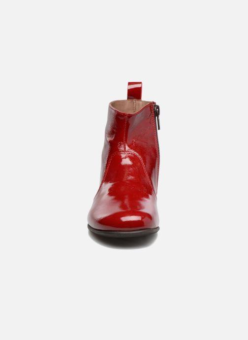 Bottines et boots PèPè Giulia Bordeaux vue portées chaussures