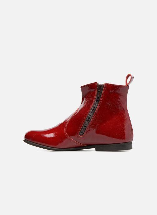Bottines et boots PèPè Giulia Bordeaux vue face