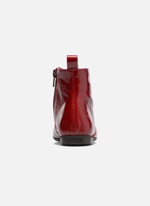 Bottines et boots PèPè Giulia Bordeaux vue droite