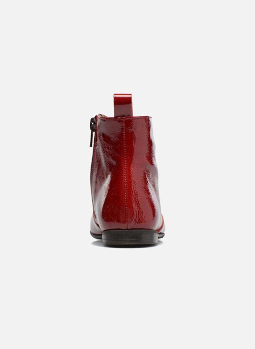 Ankle boots PèPè Giulia Burgundy view from the right