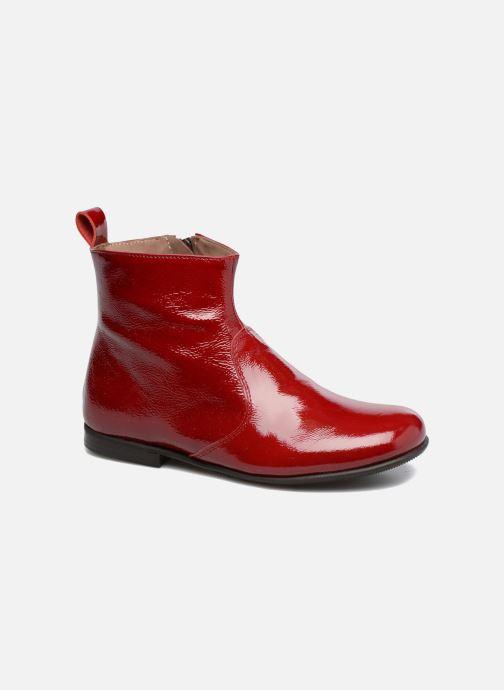 Bottines et boots PèPè Giulia Bordeaux vue détail/paire