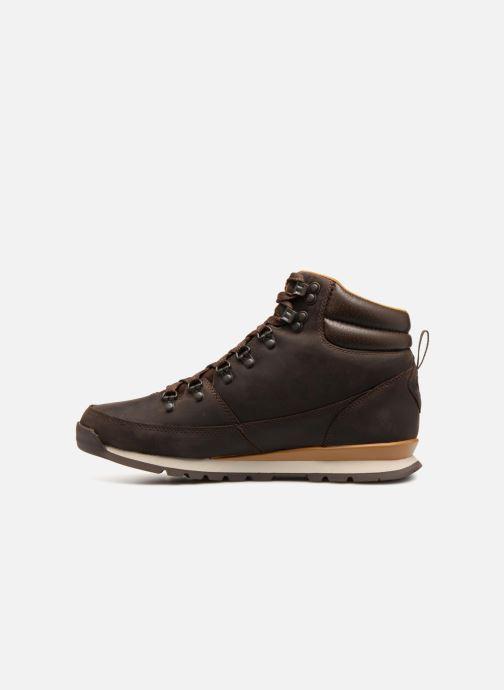 Zapatillas de deporte The North Face Back-To-Berkeley Redux Leather Marrón vista de frente
