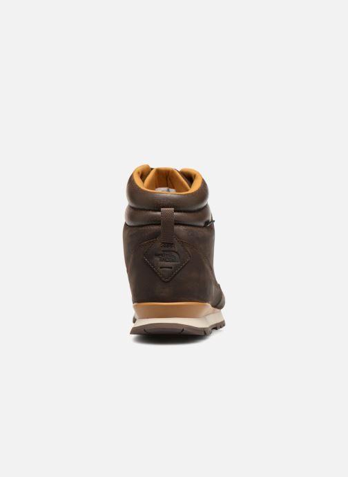 Zapatillas de deporte The North Face Back-To-Berkeley Redux Leather Marrón vista lateral derecha