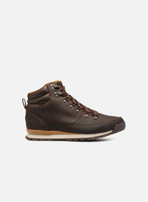 Sportschoenen The North Face Back-To-Berkeley Redux Leather Bruin achterkant