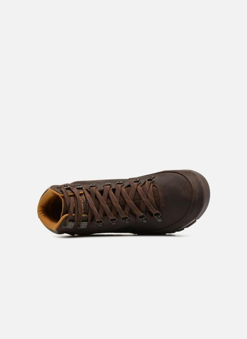 Zapatillas de deporte The North Face Back-To-Berkeley Redux Leather Marrón vista lateral izquierda