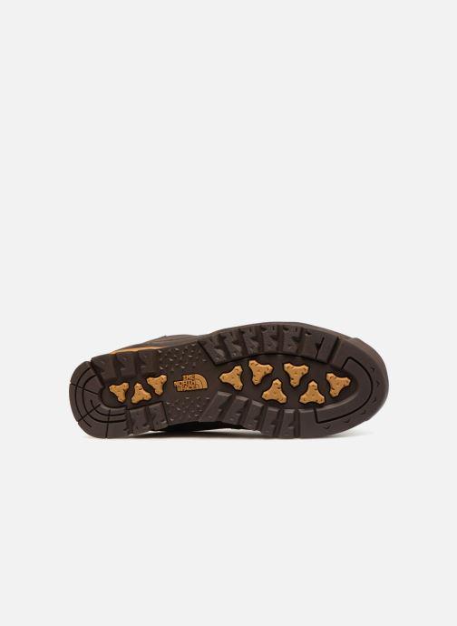 Zapatillas de deporte The North Face Back-To-Berkeley Redux Leather Marrón vista de arriba