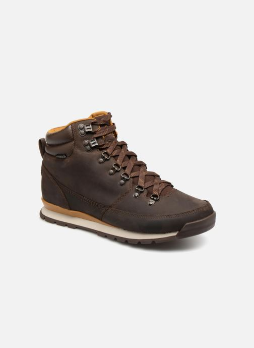 Chaussures de sport The North Face Back-To-Berkeley Redux Leather Marron vue détail/paire