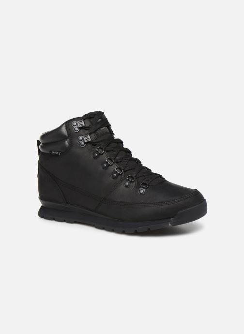 Chaussures de sport The North Face Back-To-Berkeley Redux Leather Noir vue détail/paire