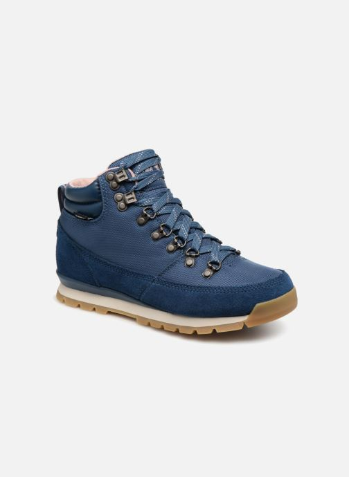 Chaussures de sport The North Face Back-To-Berkeley Redux Bleu vue détail/paire