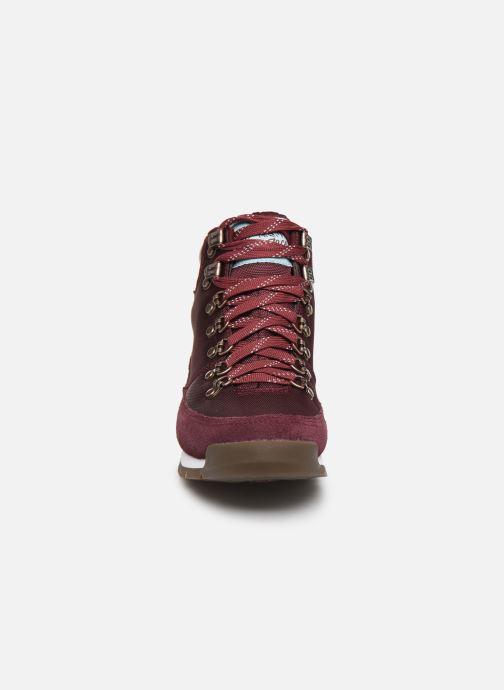 Chaussures de sport The North Face Back-To-Berkeley Redux Bordeaux vue portées chaussures