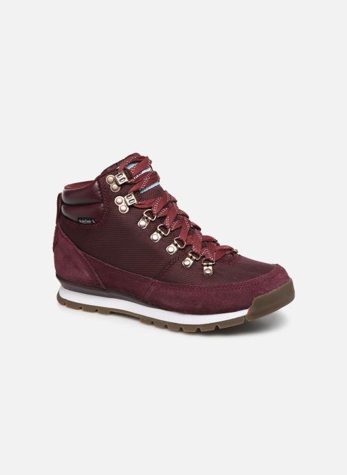 Chaussures de sport The North Face Back-To-Berkeley Redux Bordeaux vue détail/paire