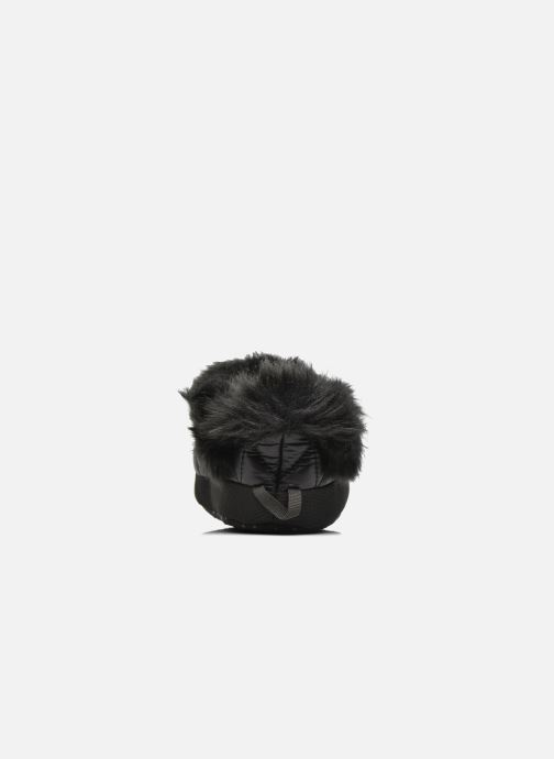 Pantuflas The North Face ThermoBall Tent Mule Faux Fur Iv Negro vista lateral derecha