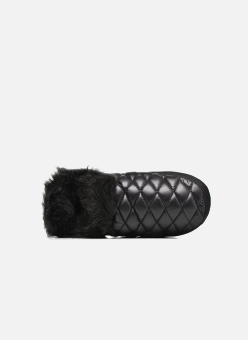 Pantuflas The North Face ThermoBall Tent Mule Faux Fur Iv Negro vista lateral izquierda