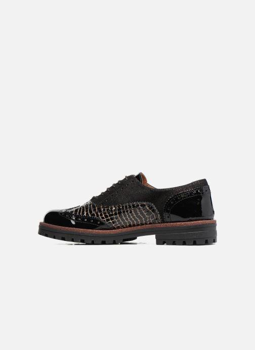 Zapatos con cordones Romagnoli Jade Negro vista de frente