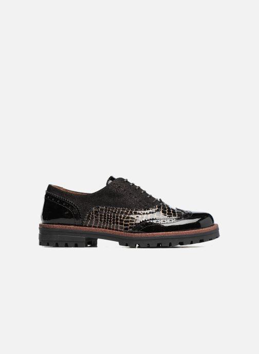 Zapatos con cordones Romagnoli Jade Negro vistra trasera
