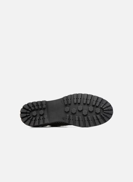 Zapatos con cordones Romagnoli Jade Negro vista de arriba