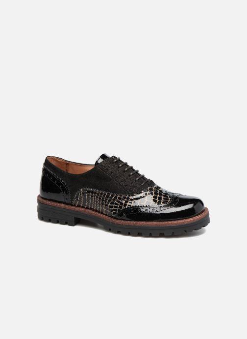 Zapatos con cordones Romagnoli Jade Negro vista de detalle / par